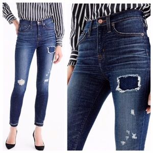 J. Crew Lookout High Rise Skinny Lassiter Jeans